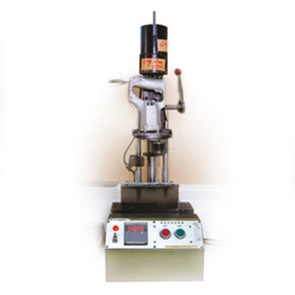 Typical drill-drive test fixture